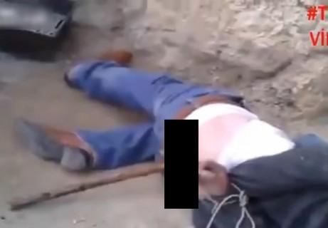 【閲覧注意】妻と娘を両方寝取られた男性、相手の男の肛門に・・・(動画)