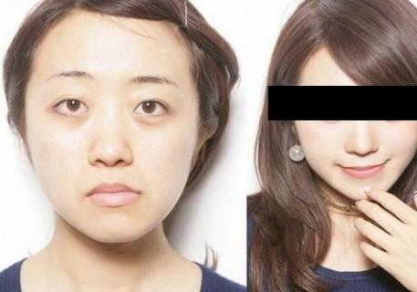"""【画像】海外サイトで紹介されていた """"アジア人の女の子が目を大きくする方法"""" ・・・"""