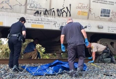 【閲覧注意】女性が死亡した電車事故の現場で1枚の写真が撮影される・・・