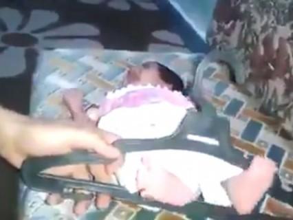 泣き声注意。赤ちゃんへの拷問