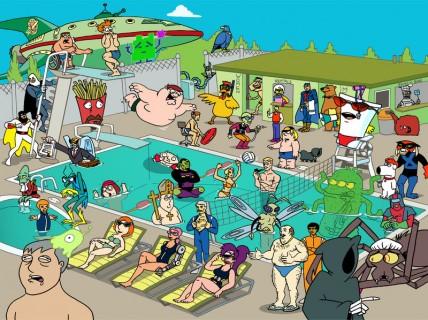 【画像】プールで物凄いエロい水着着た人が発見され話題に。これはほとんど見えてるわ