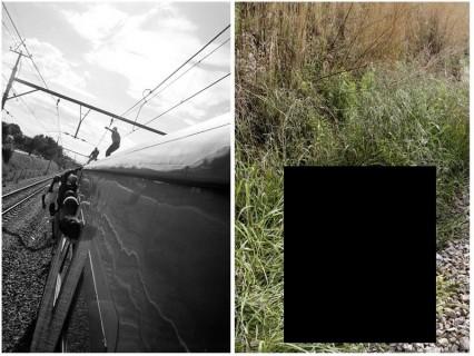 【閲覧注意】電車の上に乗ってふざける若者たちがマジで死にまくってて笑えない