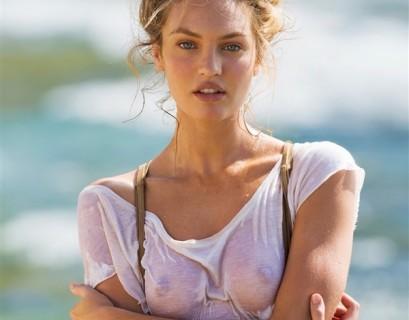 【画像】スーパーモデルのこの乳首の出し方好きだわ