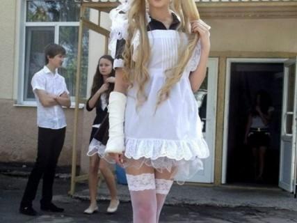ロシアでも話題になるほどの美人女子高生が発見される