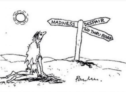 【閲覧注意】砂漠の真ん中に放置された人間はこうなる・・・