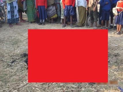 【閲覧注意】小学校からニワトリ2匹を盗んだ男、小学生たちの前で燃やされる