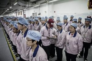 iPhone作ってる中国の工場に行ってみたら衝撃だった… (画像)