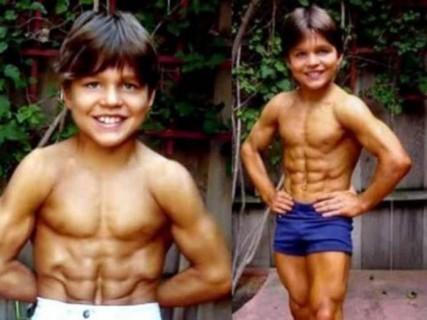 「世界最強の子供」と言われたムキムキの8歳児、24歳になった現在の姿・・・(画像)