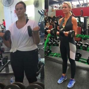 90kgのダイエットに成功した美女、服を脱いで見せてくれた…(画像)