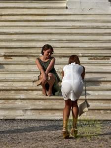 【画像】こういう乳首とか女性器透ける服着てる女って何なの?