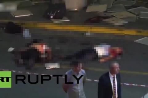 【閲覧注意】イスタンブールの空港から恐ろしい映像来た