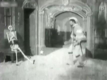 【動画】世界初のホラー映画、「The Devils Castle」 (1896)
