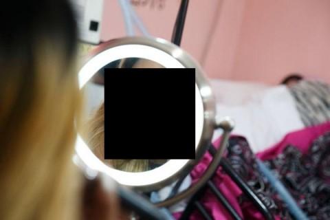【画像】この女ブロガーの衝撃的な顔面・・・