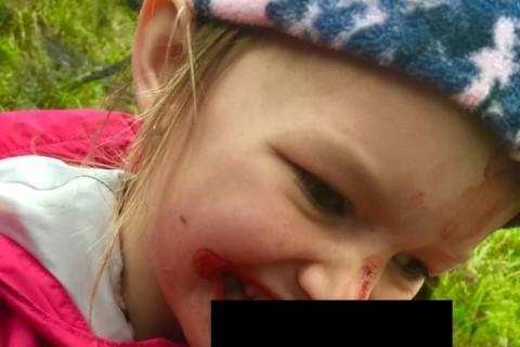 【閲覧注意】「父親が8歳の娘にやらせた事」がネットで大炎上(画像)