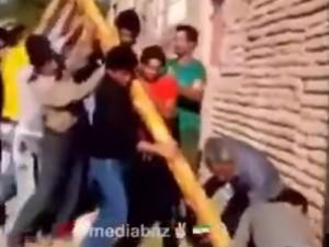 """""""倒れた電柱に近付いてはいけない"""" …4人が即死した映像"""