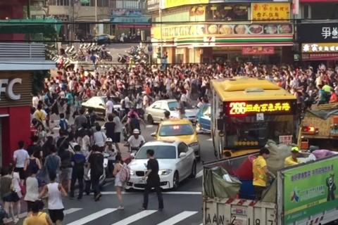 「ポケモンGO」で台湾にカビゴンが出現した結果・・・ (画像)