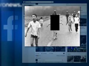 """Facebookで """"あの写真"""" が禁止・・・「これは児童ポルノです」"""
