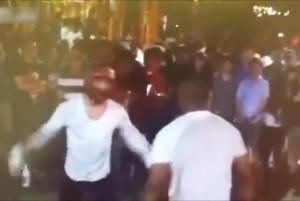 ボクシングかじってる黒人がプロボクサーのアジア人と戦った結果・・・(動画)