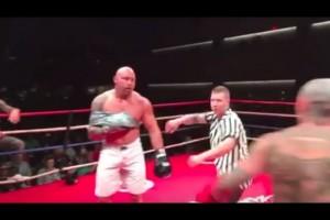 【動画】格闘技の元世界チャンピオンが片腕を縛ってチンピラと殴り合いしたらこうなる