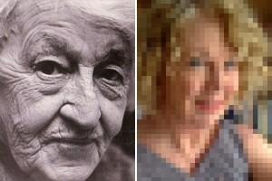 """現代の """"若返り技術"""" は凄かった。69歳の女性が自分のおばあちゃん(69歳時)の写真と比べた結果…"""