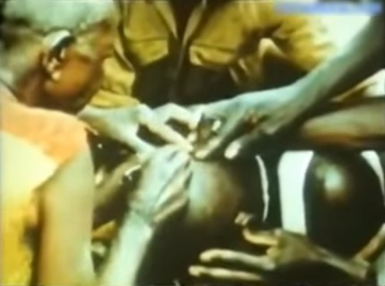 【閲覧注意】昔のアフリカ人って人間にありえない事してたんだな