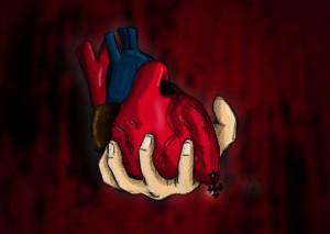"""【閲覧注意】生きた人間から """"取り出したばかり"""" の心臓の動きはこうなる・・・"""