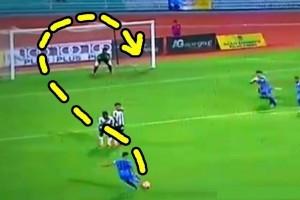 なんだこの魔球…。FIFAが選んだ2016年、サッカーの「No.1ゴール」が凄すぎると話題に