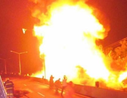 【閲覧注意】燃料40000リットルで燃やされた人間、人間じゃなくなる