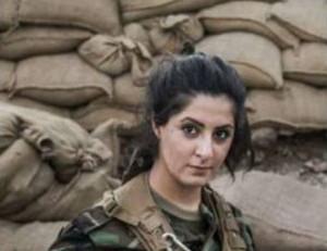 ISIS(イスラム国)を100人殺した美女をご覧ください