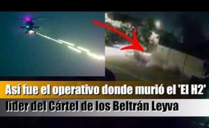 【動画】メキシコのギャングのボス、軍隊に凄い殺され方をする