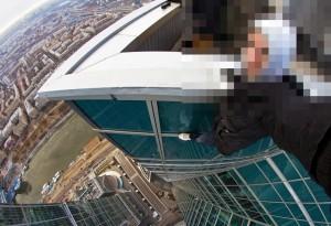 """ロシアの高所自撮り。結局 """"失敗した時"""" の動画が一番怖い"""