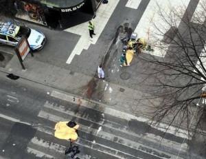 【閲覧注意】昨日テロがあったスウェーデンの首都ストックホルムから恐ろしい画像が届く