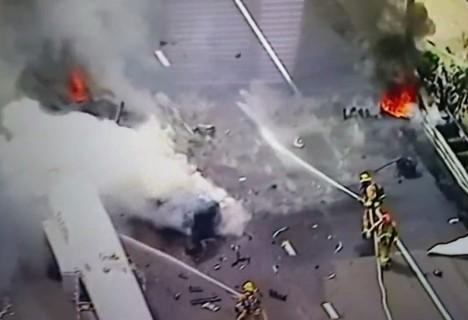 【閲覧注意】昨日のニュースでヤバすぎるものが映る放送事故(動画)