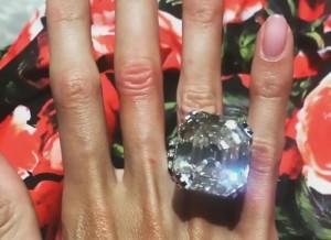 10億円の指輪を自慢しまくってるお金持ちの妻が「ブスすぎる」と話題に・・・(画像)