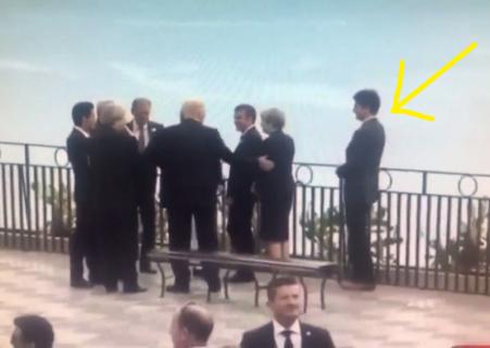 【動画】各国のトップが集まったG7首脳会議で1人の首相がいじめられる事件が発生