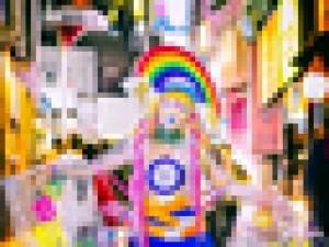 外国人が東京の路上で撮影した「オシャレな日本人」、完全にヤバい奴がいる…(画像)