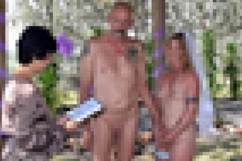 【画像】親族・友達全員に出席を「拒否」された悲しすぎる結婚式の様子をご覧ください…