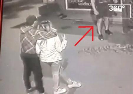 【動画】10代カップルの彼氏、調子に乗ってヤバい奴にケンカを売る ⇒ 意識不明の重体