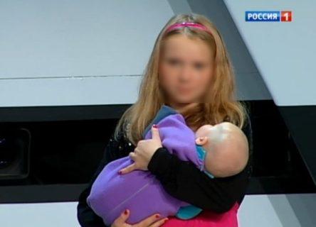 お兄ちゃんの子供を妊娠・出産した13歳の美少女をご覧ください…(画像)