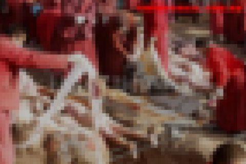 【閲覧注意】地震で2000人が死亡した場所でとんでもないものが撮影される・・・(画像)