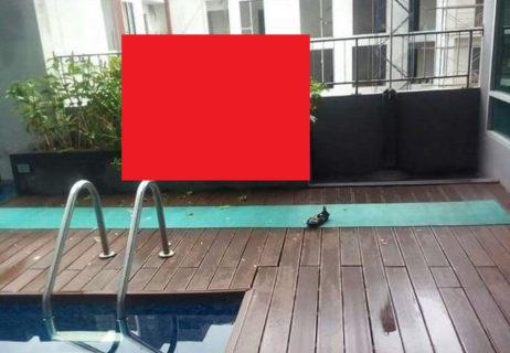 【閲覧注意】DQN「高い所からプールに飛び込めば女の子にモテるぞ!」 ⇒ 末路・・・(画像)