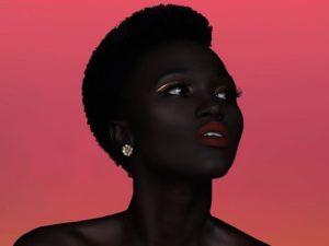 """""""世界で最も黒い女性モデル"""" が世界中で話題に・・・なんだこれ・・・(画像)"""
