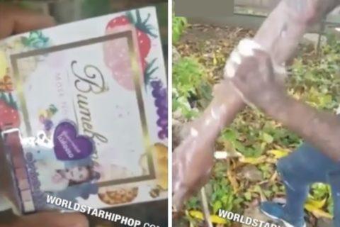 """【動画】黒人が """"美白石鹸"""" で体を洗った結果・・・マジかよこれ"""