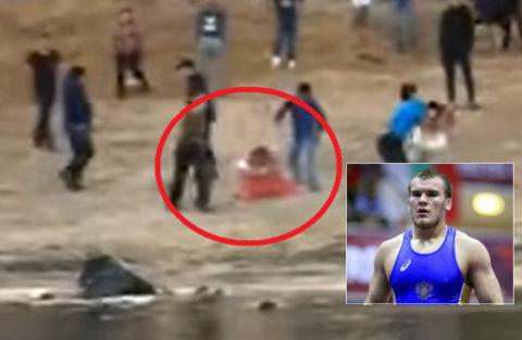 【動画】レスリングのチャンピオンが素人との喧嘩で殴り殺される衝撃映像が話題に