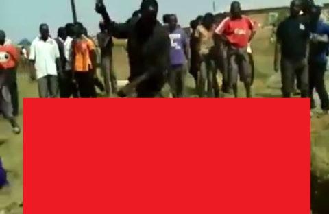 【閲覧注意】アフリカの2017年8月、未だにこのレベル…(動画)