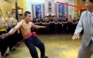 中国のカンフーマスターがガチで世界一強いと話題の動画。これに勝てる奴存在するの…?