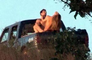 【画像】超有名女優さん、トラックの運転手とカーセ○クスしているのを撮られてしまう・・・