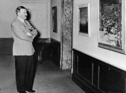 アドルフ・ヒトラーが描いた「絵」がこちら…(画像)