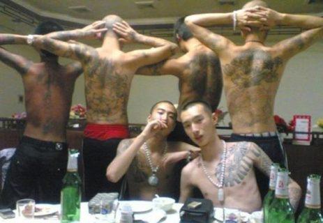 【閲覧注意】中国のギャングがどれだけヤバいのかがよく分かる画像
