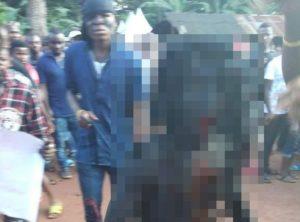 【画像】ナイジェリアで伝説の生物「鬼」が発見される